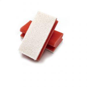 sponspad rood/wit