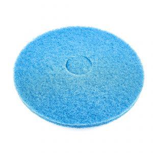 schrobpad blauw doorsnee 43 cm.