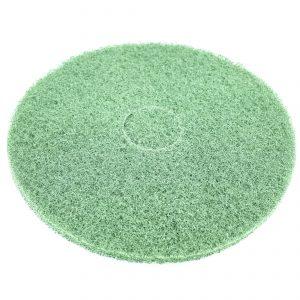 schrobpad groen doorsnee 43 cm.