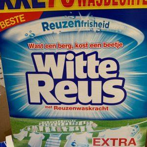 witte reus wasmiddel xxl verpakking